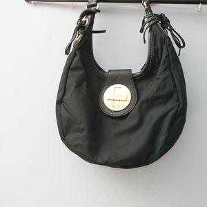 Nylon small hobo bag